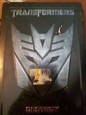 Transformers (2-DVD Set, 2007, Destroy Steelbook) Shia LaBeouf