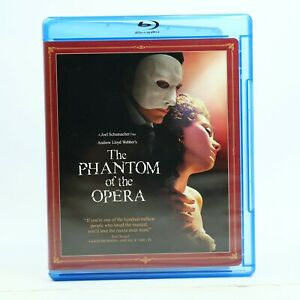 The Phantom Of The Opera Blu Ray Region A Good Condition Free Tracked Post