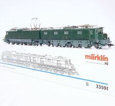 "Marklin AC HO 1:87 Swiss ""Monster"" SBB Ae 8/14 ELECTRIC LOCOMOTIVE 11801 MIB`90!"