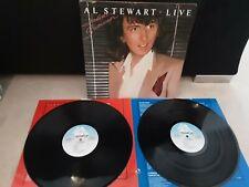 "Al Stewart – Live Indian Summer Vinyl 12"" Double LP + Inners Arista US Import"