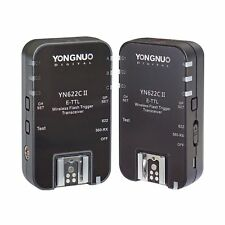 Yongnuo Updated Yn-622C Ii Hss + Ttl Wireless Flash Trigger Set 1/8000 for Canon