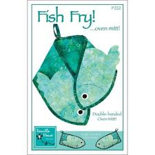 Fish Fry ! Pattern Oven Mitt!  Single-handed and Double-handed Oven Mitt!