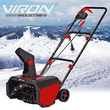 Elektro Schneefräse Motorfräse Schneeschieber Kehrmaschine Schneepflug Schaufel
