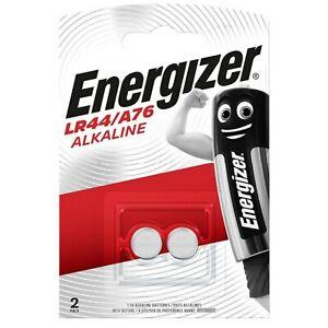 Pile LR44 AG13 LR1154 A76 V13GA lot de 2 piles bouton alcaline Energizer