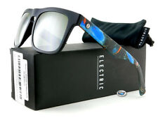 New Electric MAINSTAY Sunglasses | Midnight Oil / OHM Grey Silver Chrome Lens