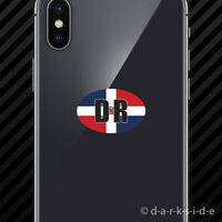 "2x Dominican Shocker Sticker 6/"" Die Cut Decals Dominican Republic Vinyl DR"