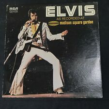 ELVIS PRESLEY As Recorded At Madison Square Garden ORIG 1972 LSP-4776