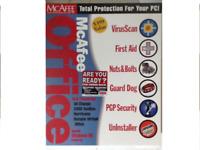McAfee Office 2000 Version 1.0 1998 Big Box Complete CIB Rare