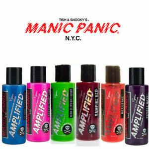 2 x Manic Panic Amplified Semi-Permanent Hair Color Various Colours 118ml