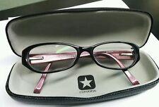 Converse Eyeglasses Frames Rocksteady Black & Mauve W/ Case 50[]16 135