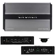 Crunch Power PD21001 Monoblock 2100 Watt Car Audio Amplifier 2100w Sub Amp