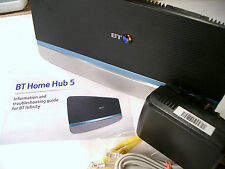 BT Home Hub 5 Infinity Fibre ADSL Dual Band Wireless AC Gigabit Router Plusnet