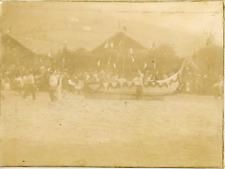 France, Revue théâtrale par les troupes ca.1897 vintage citrate print Vintage ci