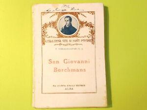 SAN GIOVANNI BERCHMANS P. VIRGILIO CEPARI EDITRICE SAN PAOLO
