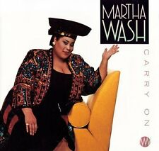 Martha Wash Carry on (UK, 6 versions, 1992) [Maxi-CD]