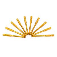 10Pcs Ceramic Tile Glass Cross-shaped Drill Bit Set Alloy Head 6mm Drill tool