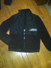 NWT BOYS FADED GLORY WINTER JACKET COAT FLEECE & FLEECE LINED SMALL 6-6X BLACK