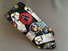 Disney Mickey Mouse Collector Men's Neck Tie Mickey's World Tour