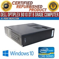 Dell OptiPlex 9010 DT Intel i7 8 GB RAM 1 TB HDD Win 10 USB VGA B Grade Desktop
