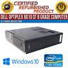Dell OptiPlex 9010 DT Intel i5 8GB RAM 500GB HDD Win 10 USB VGA B Grade Desktop