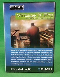 Emu E-MU EmulatorX Emulator  Vintage X Pro Volume 2
