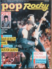 POP ROCKY 16 - 1986 Wham INXS Queen Doro Pesch Falco Stephanie David Lee Roth