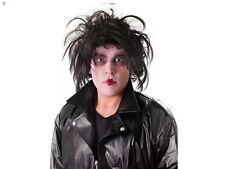 Mens Psycho Wig Edward Scissor Wig Hands Halloween Fancy Dress Costume Outfit