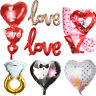 "Party Valentines Foil Balloon Heart & Letters "" LOVE"" Set for Wedding Decoration"