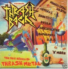 (613L) Thrash Back, Big Cheese Magazine - DJ CD