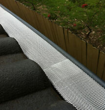 10m D-Fence Gutter Gutter Guard Aluminium Leaf Mesh - That Keeps The Leaves Out