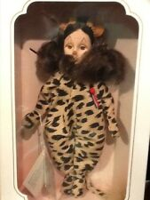 """WIZARD OF OZ COWARDLY LION STORYBOOK COLLECTION EFFANBEE DOLL 11"""" #FB1159"""