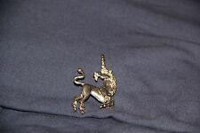 Sterling Silver Mystical Unicorn Charm Vintage Pendant 3D Gift Unique Stunning