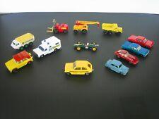 12 pc 1960's & 1970's Vintage Lesney-England & Matchbox Diecast Cars/Trucks Vg