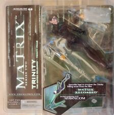 The Matrix Reloaded// Trinity Falls Figure// MIB
