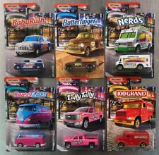 MATCHBOX 2019 CANDY SERIES ( SET OF 6 ) VW DELIVERY CHOW MOBILE FREE SHIPPING