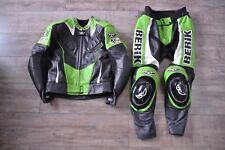 Berik Lederkombi Größe 48 | Motorradkombi | Zweiteiler top Zustand | grün| Ninja