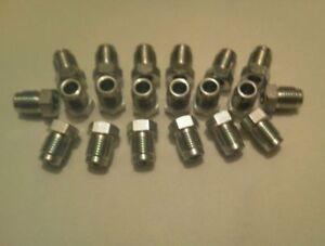 20x ATE Bremsleitungsnippel / Überwurfschraube für Bremsleitung Bördel F M10x1