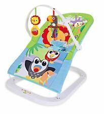 Baby bouncer Premium AMICI ANIMALI Sedia Sedile con musica rilassante & vibrazioni