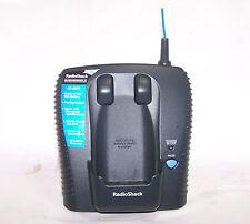 radioshack 43-3575 uniden wx1377 900 mhz waterproof cordless phone main base