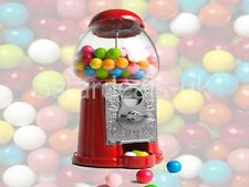 Gumball Machine Dispenser Bank With Bubble Gum Coin Operated Party Kids Toy