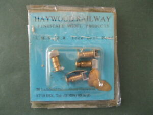HAYWOOD LMS/BR 7mm SCALE SPRUNG OVAL LOCO BUFFERS - NEW