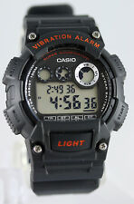 Casio W-735H-8AV Vibration Alarm Watch 100M WR 10 Year Battery Super-Illuminator