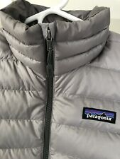 Patagonia Women's Down Sweater Jacket, Grey, Small