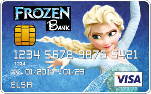 Elsa - Frozen Novelty Plastic Credit Card