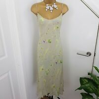 Coast Dress Midi Strap Floral Print Party Cocktail Special Occasion Size UK 14