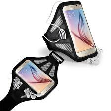 Black/Grey Mesh Sports GYM Armband Case Cover For Samsung Galaxy S10e, J3, J2