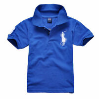 NEW Kids' Boys Girls Comfortable mesh  Short-sleeved T-shirt 11 Color 2-13Y