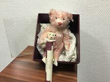 Steiff 652875 mother and Baby Bear 28 cm. con cartón & certificado