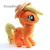 Applejack with Hat Plush Toy Orange Horse Cartoon Stuffed Animal Doll 12'' Gift