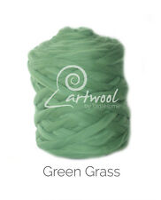 Green Grass -  1 kg 100% Merino Wool Giant Chunky Yarn Arm Knitting